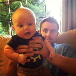 Hanging with Uncle Robbie