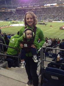 First Sounders game.