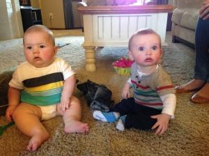 Cousin Ryder and buddy Declan. These two are the same age, if you can believe it!