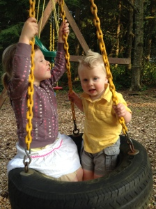 Swinging with Ella.