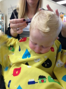 First haircut!
